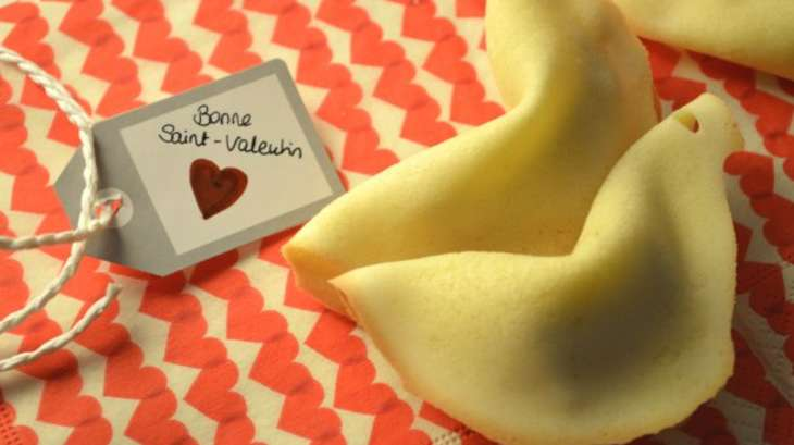 Fortune cookies des amoureux