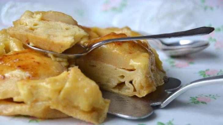Gâteau de crêpes façon tarte tatin