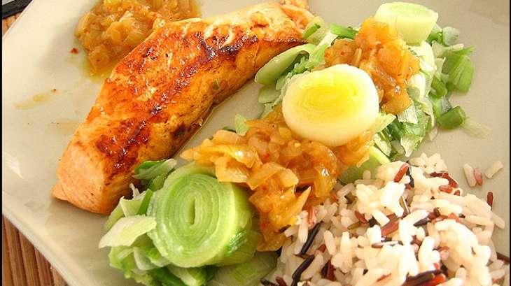 Pavés de saumon minceur aux saveurs asiatiques