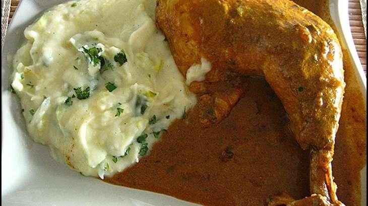 Cuisses de poulet au lait de coco et aux pices recette - Comment cuisiner les cuisses de poulet ...