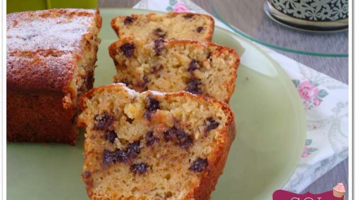 Mini cakes à la farine de pois chiche banane et pépites de chocolat sans gluten
