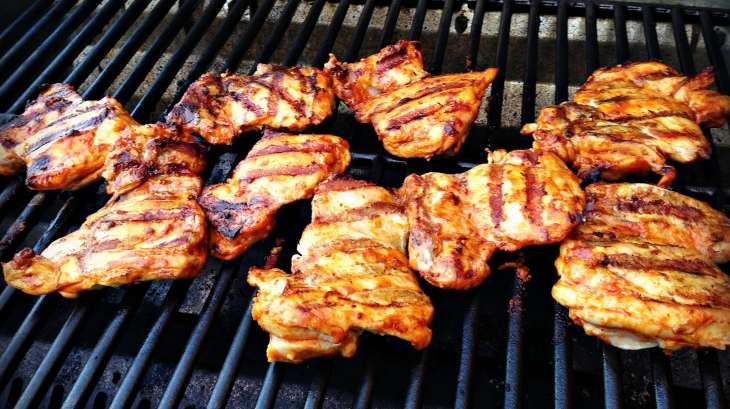 Poulet grill la portugaise recette par urbaine city - Poulet grille au barbecue ...