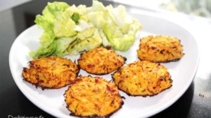 galettes de carottes et pomme de terre l g res recette par delizioso. Black Bedroom Furniture Sets. Home Design Ideas