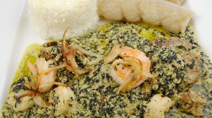 Ndol 232 Viande Morue Et Crevettes Recette Par Tchop Afrik A Cuisine
