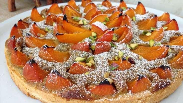 Tarte aux abricots et pistaches de christophe felder recette par en k de gourmandises - Recette de tarte aux abricots ...