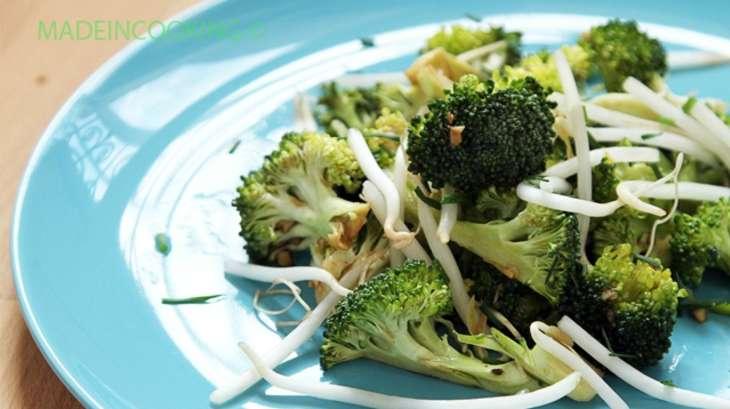 Salade de brocoli germes de soja et sauce soja recette - Cuisiner les germes de soja ...