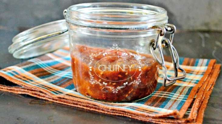 recette chutney de prunes