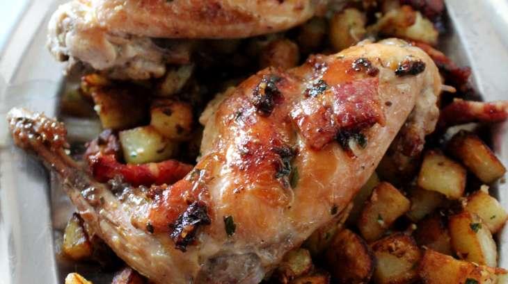 Saut de lapin la persillade de mamie charlotte - Cuisiner le lapin au four ...