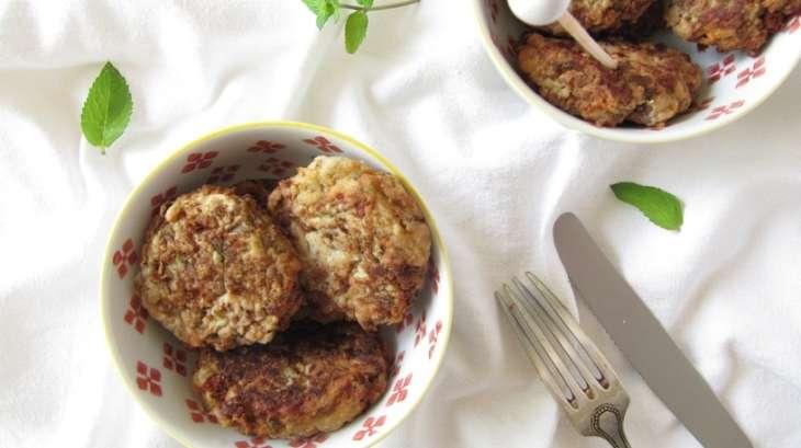 Bouchées aubergines et courgettes à la féta et au parmesan