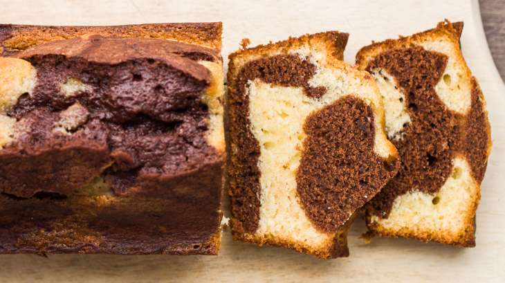 le cake marbré façon savane - recette par dur à cuire !