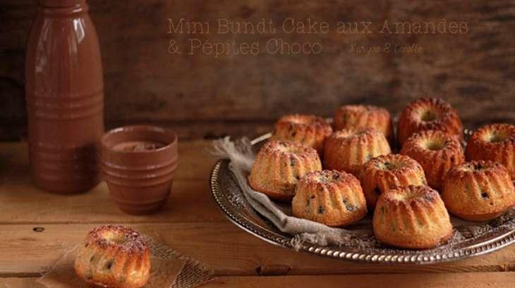 Mini Bundt Cake Amandes et Pépites de Chocolat