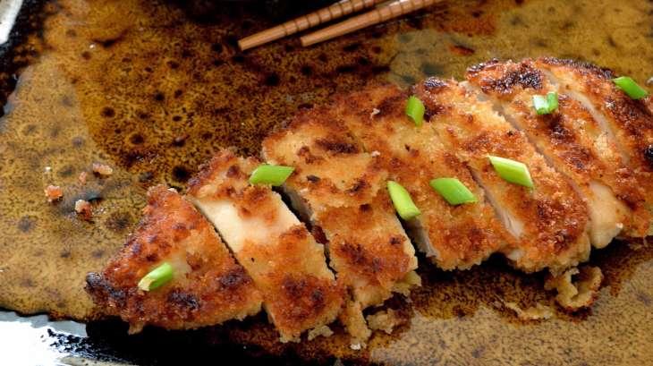 torikatsu poulet pan la japonaise recette par une aiguille dans l potage. Black Bedroom Furniture Sets. Home Design Ideas