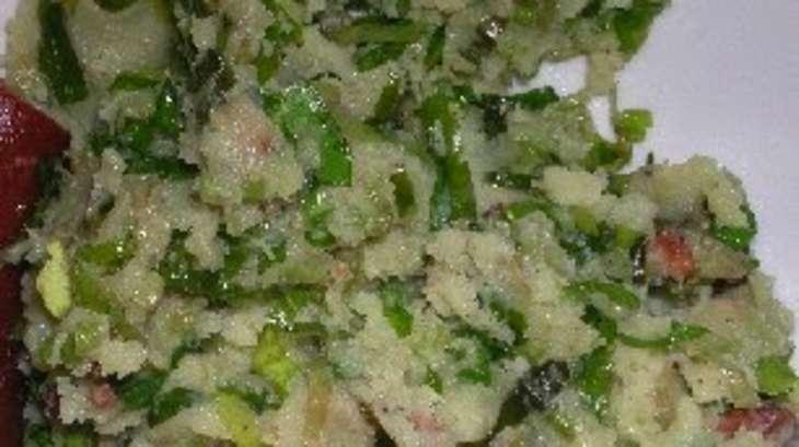 Purée verte aux pommes de terre et épinards frais, stamppot, stoemp (Hollande, Belgique)