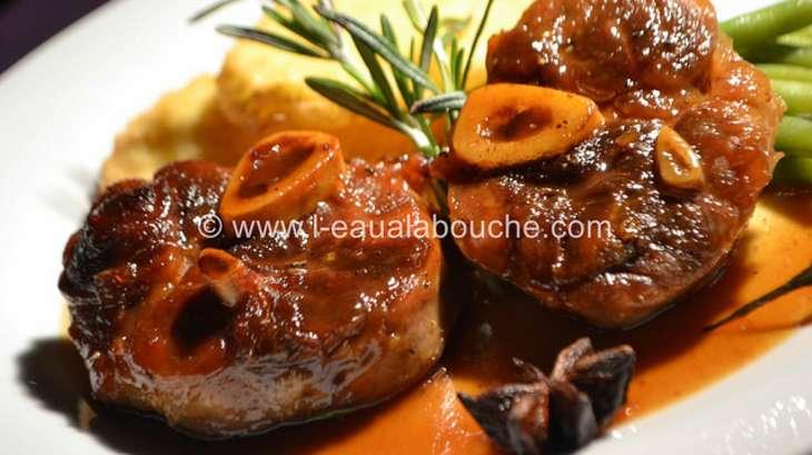 Jarret de porc caram lis sauce au vin cuit recette par - Cuisine jarret de porc ...