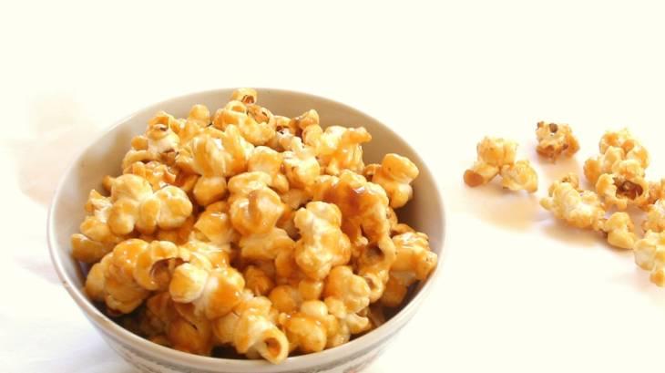 pop corn maison au caramel beurre sal par 120streetcook. Black Bedroom Furniture Sets. Home Design Ideas