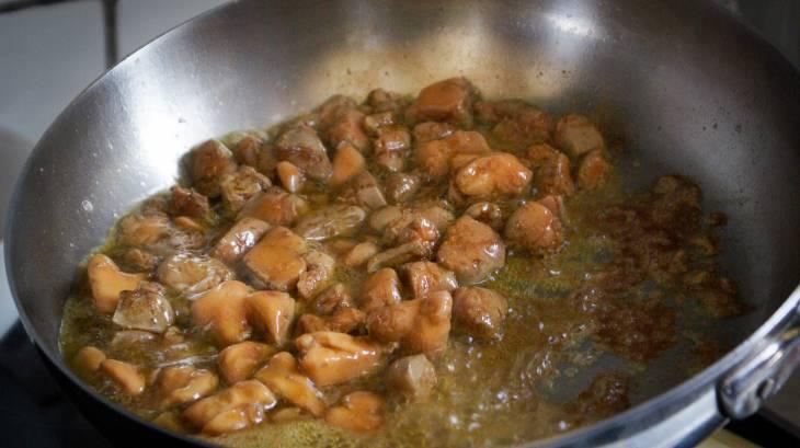 Sauter du foie gras en dés