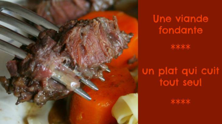 Joues de boeuf confites basse temp rature par happy cooking - Comment cuisiner le coeur de boeuf en tranche ...