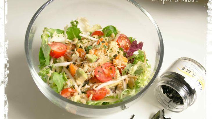 Salade de crabe abricots frais avocat et germes de soja - Cuisiner les germes de soja ...