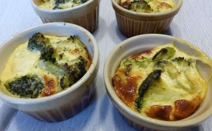 Petit flan de brocoli au parmesan - Cuisine gourmande de Carmencita