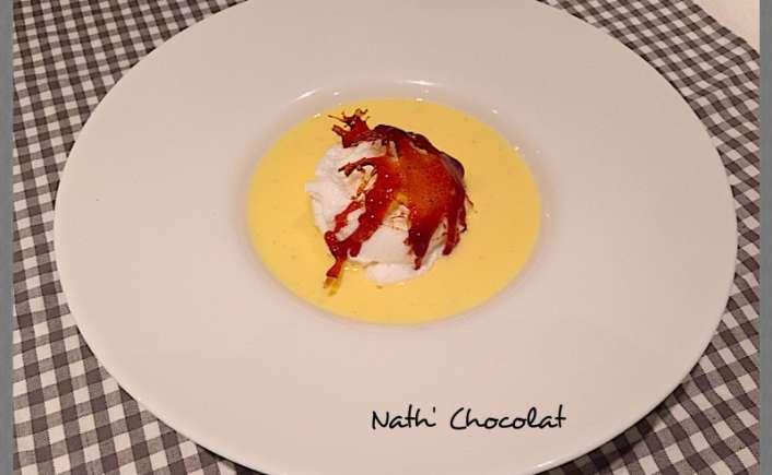 Ile flottante - Nath' Chocolat