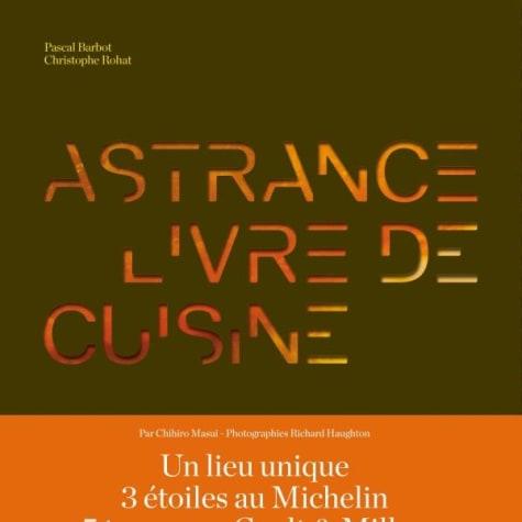 Astrance - Livre de cuisine