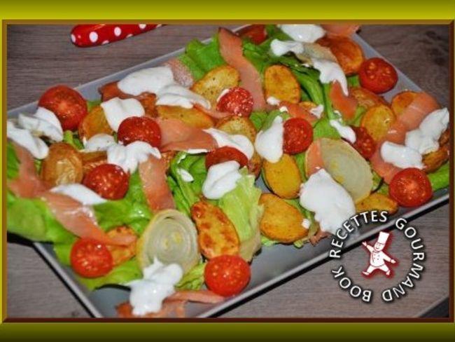 salade de pommes de terre norv gienne par book recettes gourmand. Black Bedroom Furniture Sets. Home Design Ideas