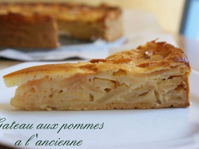 Gateau de pommes a l 39 ancienne par amour de cuisine - Recette cuisine ancienne ...