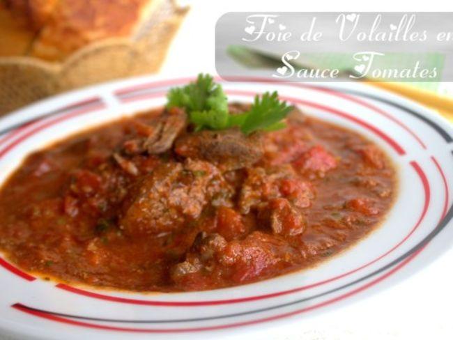 Foie de volailles en sauce tomate par amour de cuisine for Amour de cuisine ramadan 2015