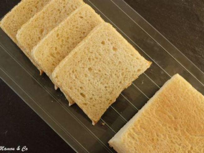 Pain de mie croque monsieur - Sachet cuisson croque monsieur grille pain ...