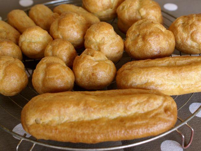 Pâte à choux et éclairs