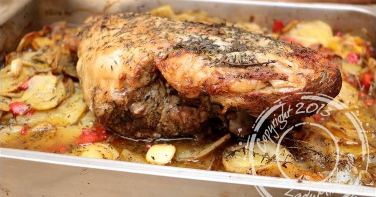 Gigot d agneau de 7 heures en 4 recette par ladymilonguera - Cuisiner les restes de gigot d agneau ...
