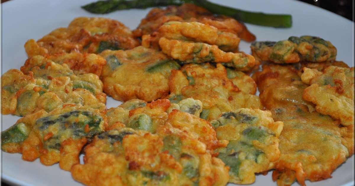 Beignets aux asperges recette par la cuisine d 39 agnes for Aux beaux rivages la cuisine