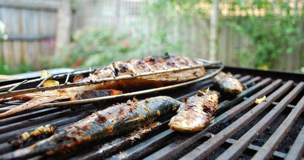 Sardines grill es la proven ale au barbecue ou la - Cuisiner des filets de sardines fraiches ...