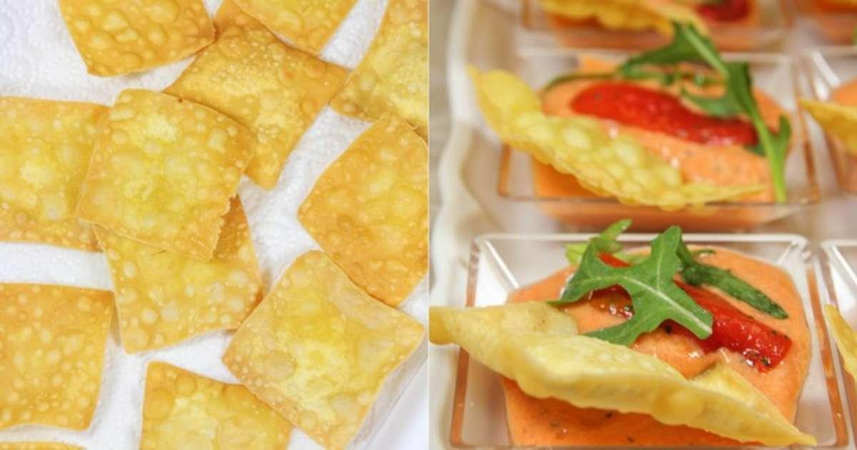 Tartinade de poivrons grill s et feta crackers de pois - Cuisiner les pois chiches ...