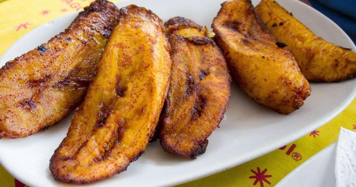 bananes plantain frites, kelewele - recette par streetfood et
