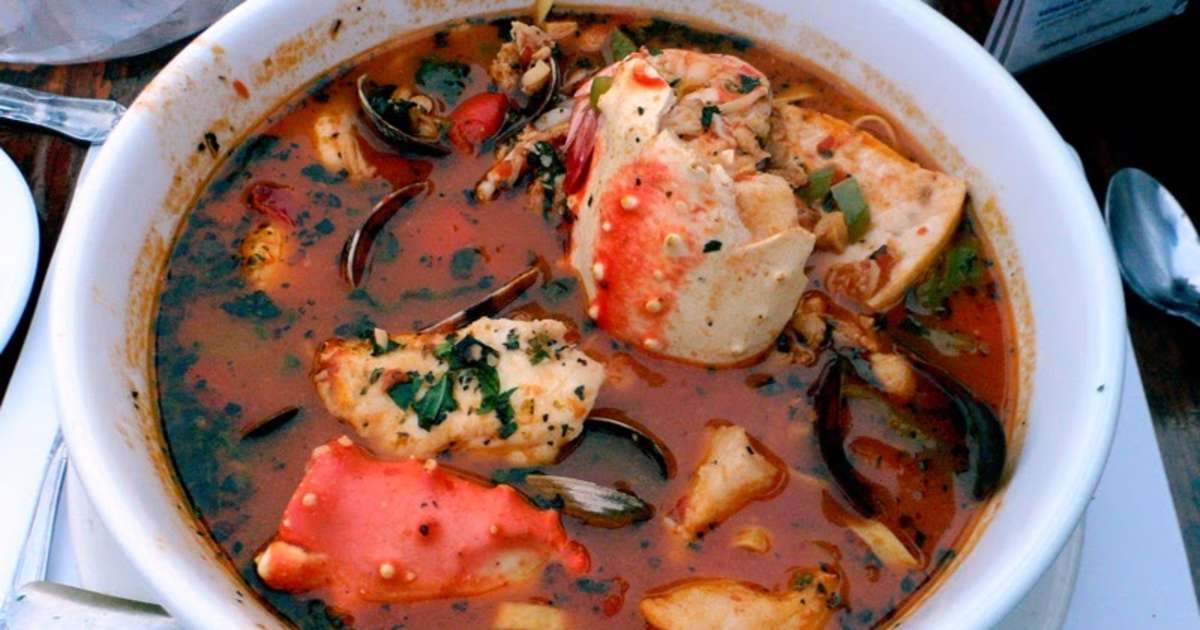 Soupe de poissons corse aziminu recette par cuisine - Cuisine soupe de poisson ...