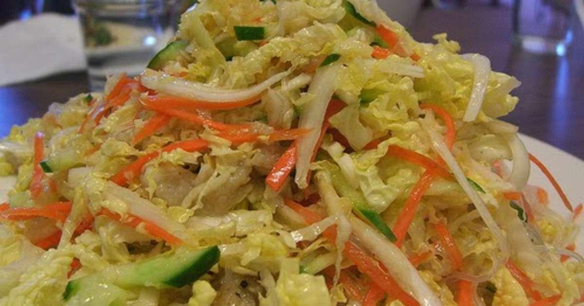 salade de chou christophine ou concombre carotte pic e vegan recette par streetfood et. Black Bedroom Furniture Sets. Home Design Ideas