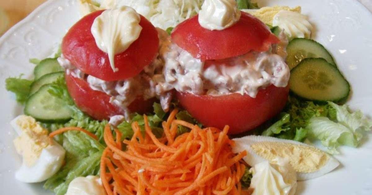 Tomates farcies au surimi oeufs durs fromage sauce for Entree fraicheur rapide
