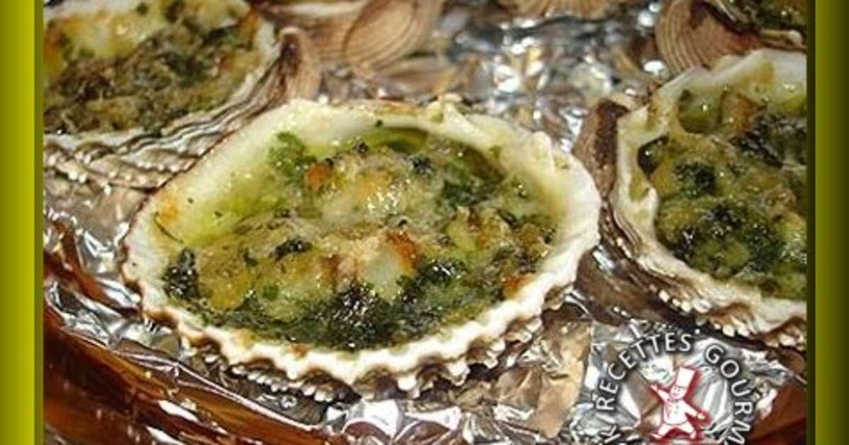 Coques au beurre d 39 escargot gratin es au parmesan - Cuisiner les escargots ...