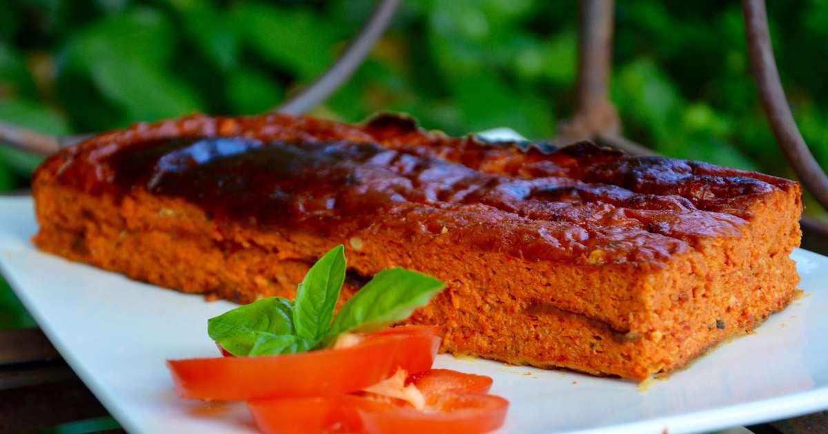 Pain de poivrons recette par la p 39 tite cuisine de pauline for Entree froide original