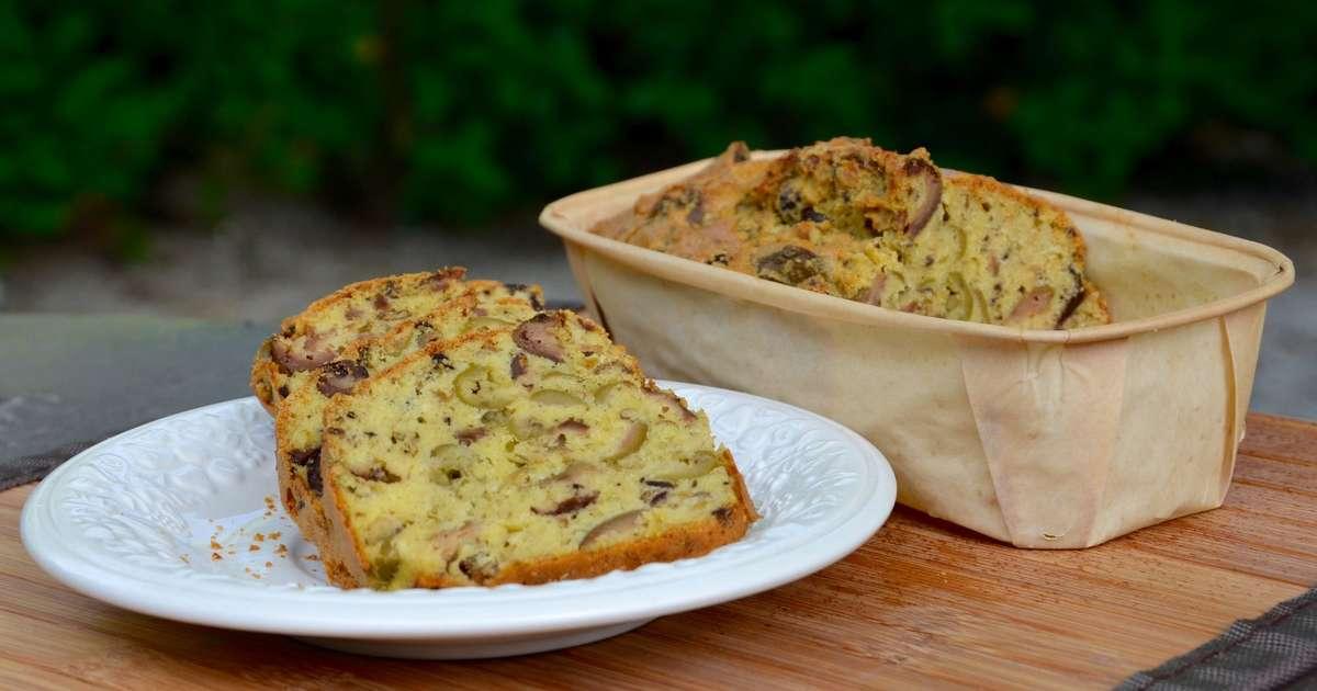 cake aux olives recette par la p 39 tite cuisine de pauline. Black Bedroom Furniture Sets. Home Design Ideas
