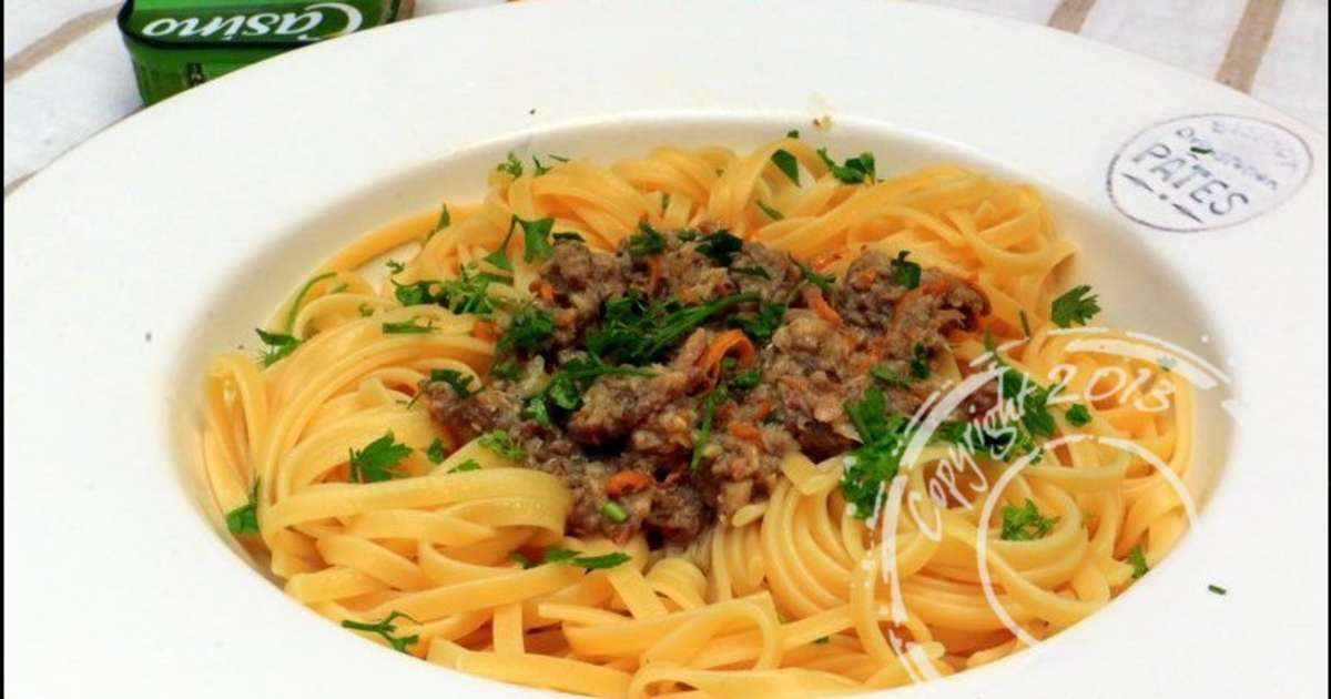 P tes sauce sardine et orange recette par ladymilonguera - Cuisiner des filets de sardines fraiches ...