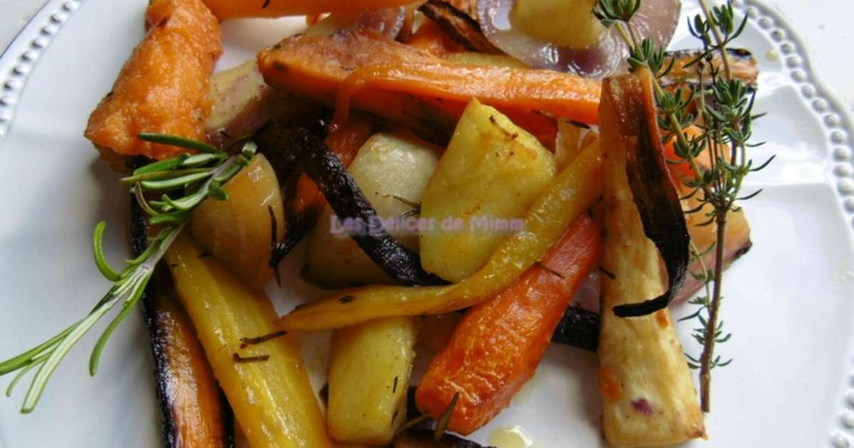 L gumes racines confits au four recette par mimm - Cuisiner le fenouil au four ...