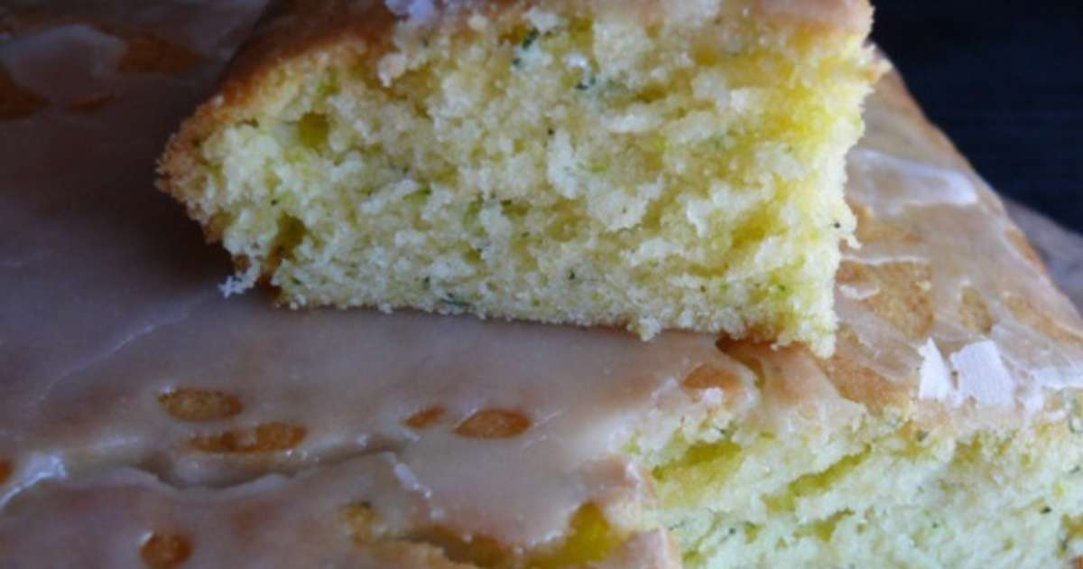 cake citron courgette - recette par delf745
