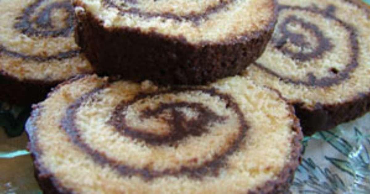 Gateau roule chocolat moelleux