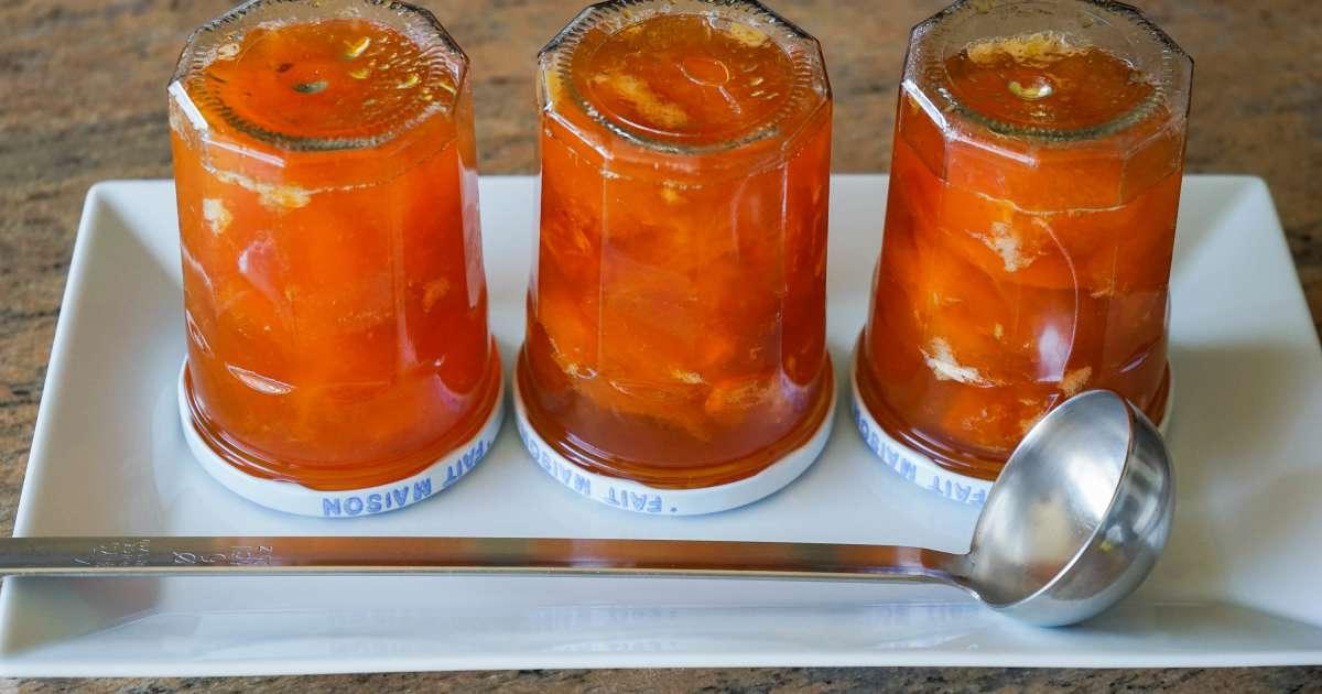 Confiture d 39 abricots recette de confiture d 39 abricots maison recette par chef simon - Confiture d abricots maison ...