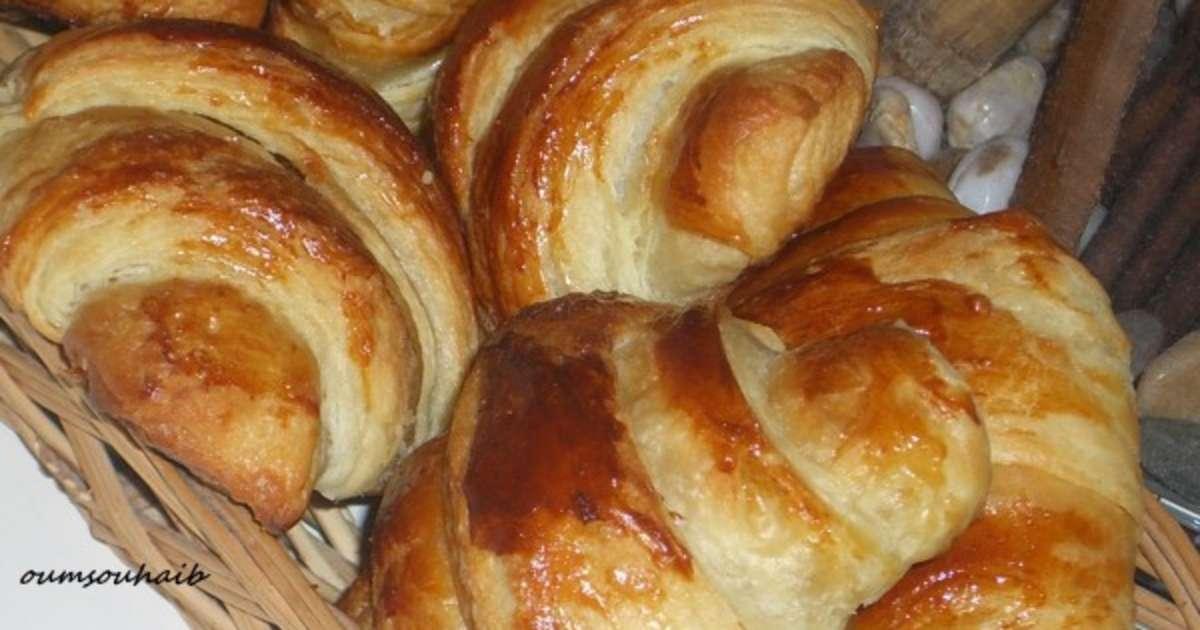 Croissant au beurre de christophe felder recette par sarah - Recette croissant au beurre ...
