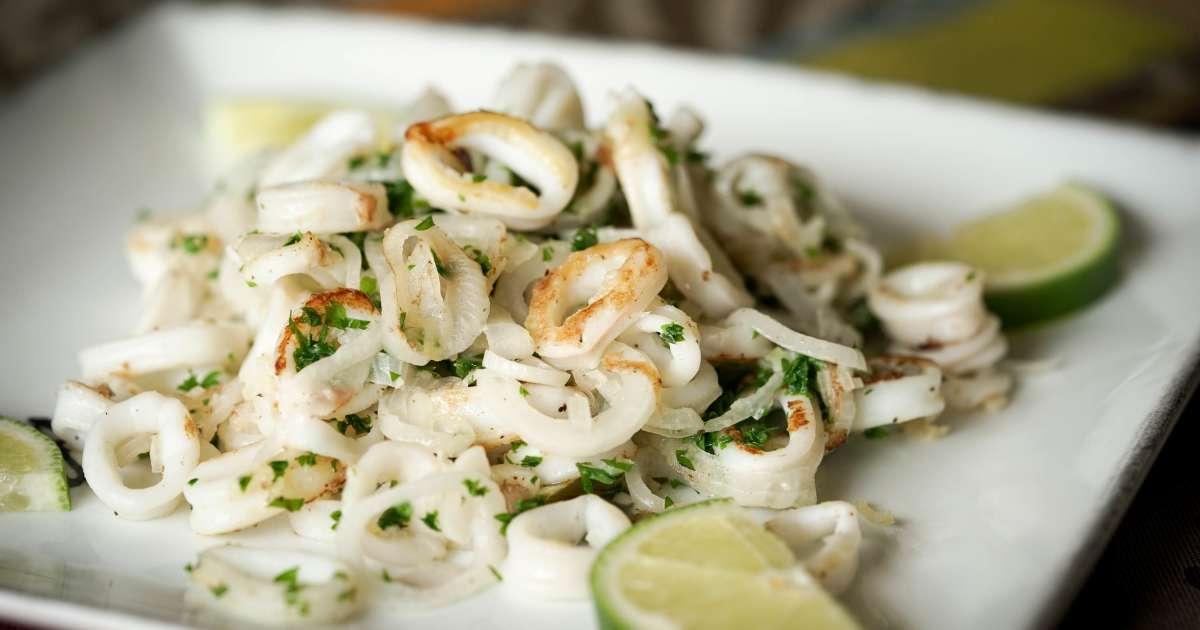 Persillade d 39 encornets la plancha recette de calamars for Que cuisiner a la plancha