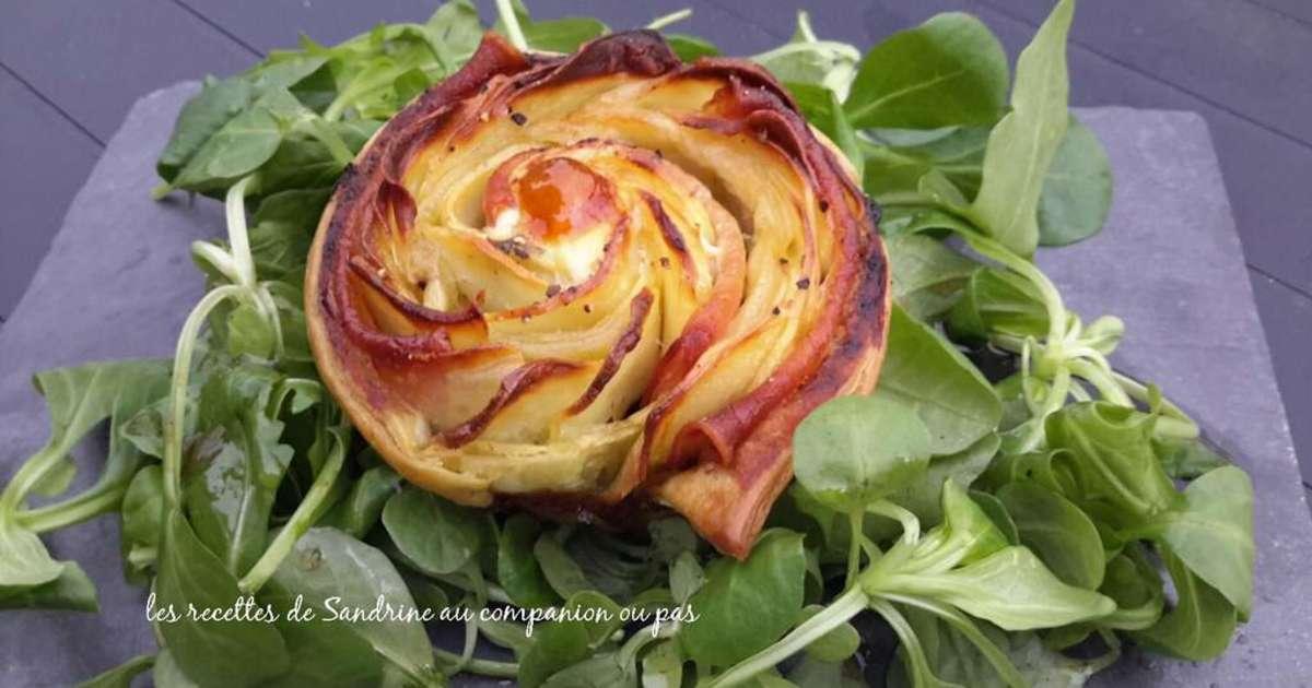 Rose feuillet e aux pommes de terre bacon pesto l 39 ail - Ou trouver ail des ours ...