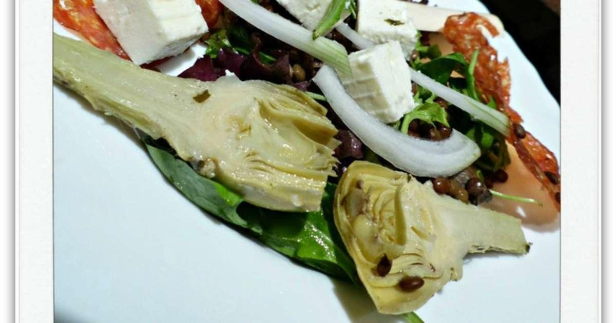 Recettes de lentilles vertes du puy et d 39 artichaut - Cuisiner les lentilles vertes ...